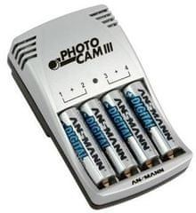 Ansmann Polnilec baterij Photo Cam III (4 x 2850mAh)