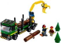 LEGO City 60059 Ciężarówka do przewozu drewna
