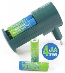 Hähnel polnilec baterij Hahnel TC Novo (4 x AA Synergy)