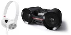 Sony ZS-BTY52 + MDR-ZX300W (White)