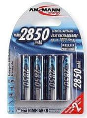 Ansmann Baterija Mignon 4 x AA 2850mAh