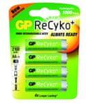 GP Polnilna baterija ReCyko Ni-Mh 4 x AA 2100 mAh