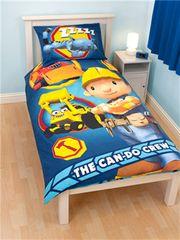 Otroška posteljnina Mojster Miha The Can-Do Crew