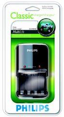 Philips Polnilec baterij SCB1400NB + 4 × 2300mAh R6B4A230