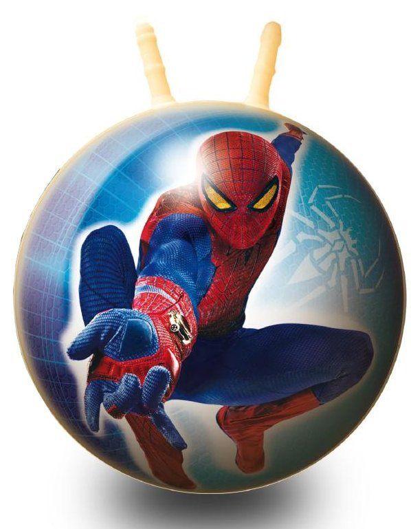 Alltoys Skákacia lopta Spiderman priemer 50 cm