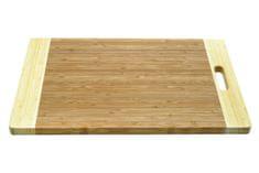 Maxwell & Williams Dvoubarevné prkénko Bamboozeled obdélníkové 45x30x1,8 cm