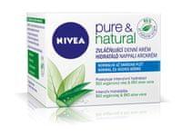 Nivea Zvláčňujúci denný krém pre normálnu až zmiešanú pleť Pure & Natural 50 ml