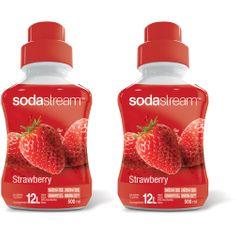 Sodastream Jahoda 2 x 500 ml