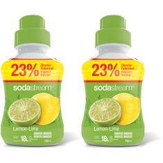 Sodastream Lemon Lime 2 x 750 ml