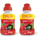 Sodastream Red Berry 2 x 750 ml