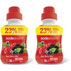 Sodastream Red Berry 2 x 750 ml