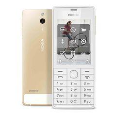 Nokia 515, Dual SIM, zlatá