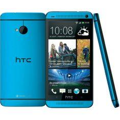 HTC One (M7) 32 GB, modrý