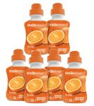 Sodastream Sirup Orange sada 6 x 500 ml