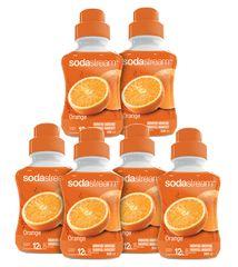 Sodastream Sirup Orange sada 6 x 500 ml