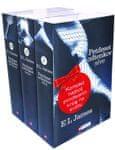 Komplet Petdeset odtenkov sive, teme in svobode, E. L. James (broširana, 2012)