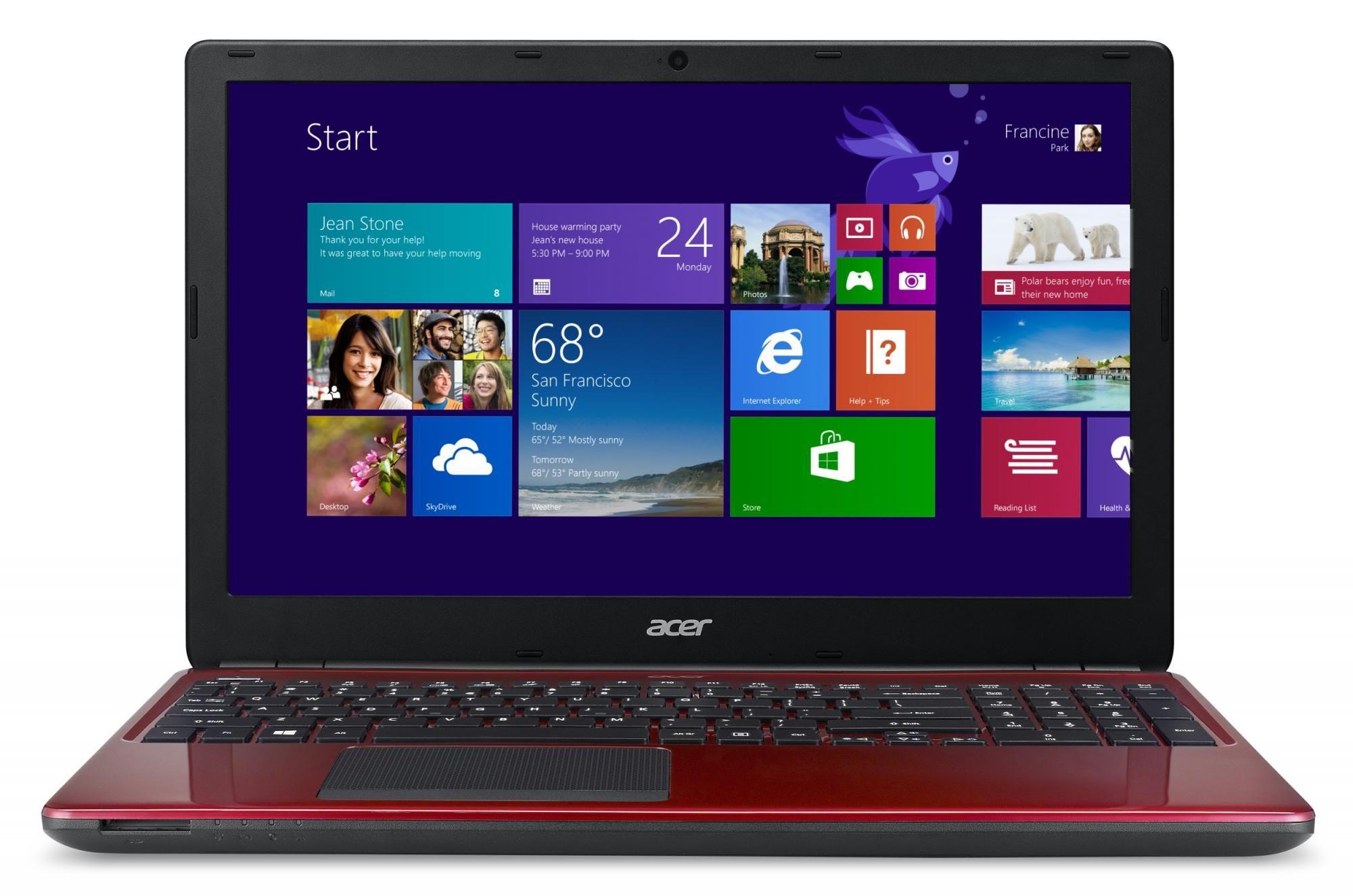 Acer Aspire E1-530-21174G50Mnrr (NX.MHDEC.001) červený