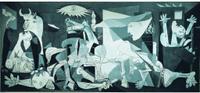 EDUCA Puzzle Guernica Pablo Picasso, 3000 dílků