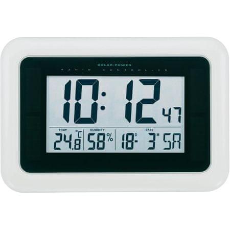 Conrad Solární nástěnné hodiny řízené rádiem