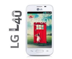 LG L40, D160, 4 GB, bílá
