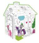 Mochtoys Omaľovánkový domček My Little Pony