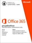 Microsoft Office 365 pro jednotlivce Cz, 1rok
