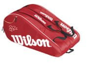 Wilson Federer team 12 bag red/white