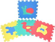 Teddies Penové puzzle Zvieratá 30 x 30 cm
