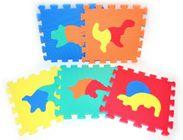 Teddies Penové puzzle Dinosaury 30 x 30 cm