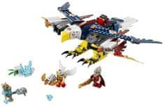 Lego CHIMA Erisin ognjeni orlovski letalnik 70142