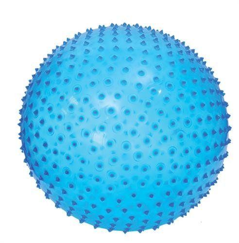 Ludi Skákacia a masážna lopta 45cm modrá