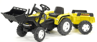 Falk Traktor Farm PowerMax s přívesem a nakladačem