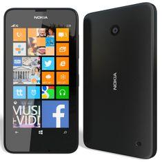 Nokia Lumia 630, černá