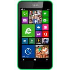 Nokia Lumia 630, DualSIM, zelená + černý kryt
