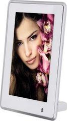 """Hama 95261 Portrétový digitální fotorámeček 6"""" (15,2 cm) Vittoria bílý s LED podsvícením"""