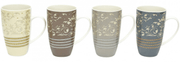 Maxwell & Williams Hrnek Rococo 450 ml Mugs - set 4 hrnků