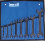 Narex Obojstranné maticové kľúče 8 ks,čiernené