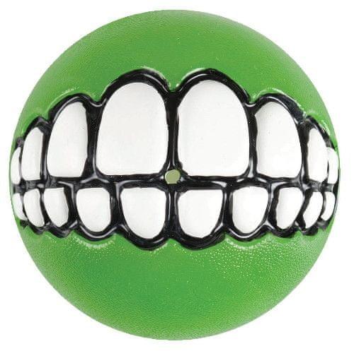 Rogz GRINZ míček se zuby limetkový 7,8 cm