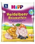 HiPP BIO Borůvkové rýžové oplatky - 7x35g