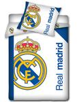 posteljnina FC Real Madrid White Design (RMA046)