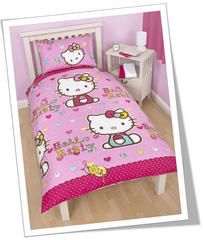 Otroška posteljnina Hello Kitty FOLK (HKI235)