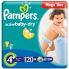 Pampers Active Baby 4+ MaxiPlus - 120 szt