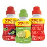 Sodastream Sirup Mix sada 3 x 750 ml