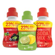 Sodastream Sirup Mix sada 3 x 750 ml