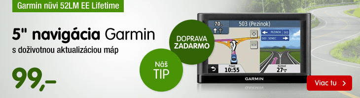 Garmin nüvi 52LM EE Lifetime