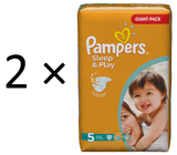 Pampers Sleep&Play 5 Junior - 148 szt.
