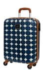 Pepe Jeans ABS Trolley 55cm 4W modré  bodky