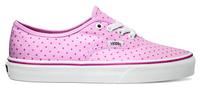 Vans U Authentic (Chambray Dots) Hot Pink 36.5