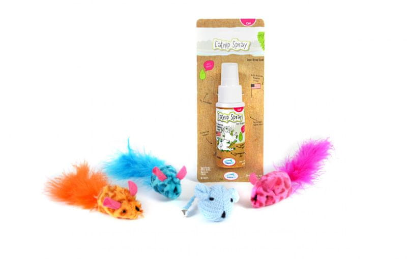 Happy Pet Balíček hraček pro kočky a koťata