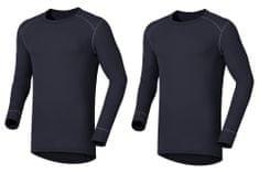 ODLO Multi-2-pack pánské triko dlouhý rukáv Warm